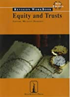 Equity and Trusts: Revision Workbook (Old…