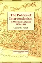 The Politics of Interventionism in Ottoman…