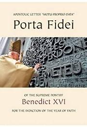 Porta fidei : motu proprio data for the…