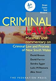 Criminal Laws: Materials and Commentary on…