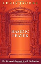 Hasidic prayer by Louis Jacobs