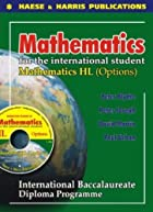 Mathematics Hl Options for International…