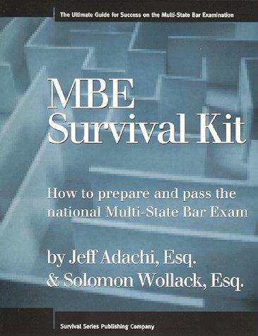 MBE - Bar Exam Preparation Materials - LibGuides at North