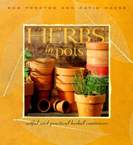 Herbs in pots :