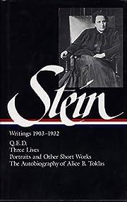 Stein: Writings 1903-1932: 1903-1932, volume…