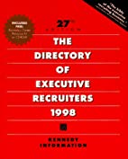 Directory of Executive Recruiters 1998…