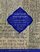 Language and Nature: Papers Presented to…