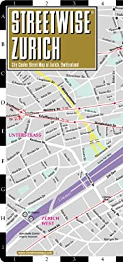 Streetwise Zurich por Inc Streetwise Maps