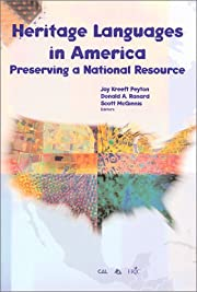 Heritage Languages in America: Preserving a…