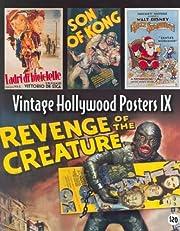 Vintage Hollywood Posters IX Book 9 de Bruce…