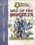 Way of the Shugenja by Shawn Carman