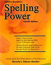 Spelling Power, Fourth Edition de Beverly L…