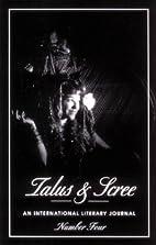 Talus & Scree International Literary Journal…