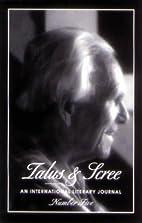 Talus & Scree #5 (International Literary…