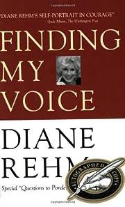 Finding My Voice de Diane Rehm