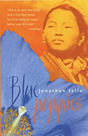Blue poppies av Jonathan Falla