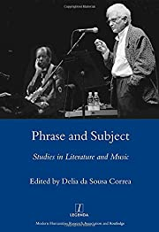 Phrase and Subject: Studies in Music and…