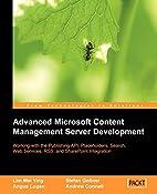Advanced Microsoft Content Management Server…