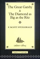 The Great Gatsby and The Diamond as Big…