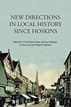 New Directions in Local History Since…