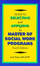 Guide to Selecting and Applying to Master of…