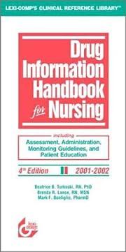 Drug Information Handbook for Nursing de B.…