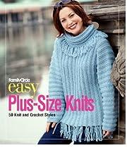 Family Circle easy plus-size knits : 50 knit…