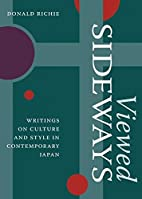Viewed Sideways: Writings on Culture and…