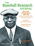 Image for Baseball Research Journal (BRJ), Volume 42 #1
