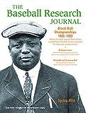 Baseball Research Journal (BRJ), Volume 42 #1, Society for American Baseball Research (SABR)