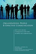Organizations, People & Effective…