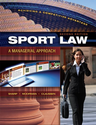 Idrottsforum. Org | recension | sport law: a managerial approach.