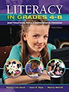 Literacy in Grades 4-8: Best Practices for a…
