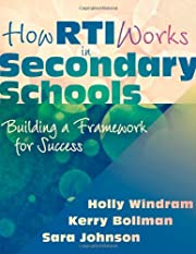 How RTI Works in Secondary Schools: Building…