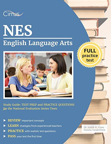 Image for NES English Language Arts Study Guide: Test Prep and Practice Questions for the National Evaluation Series Tests