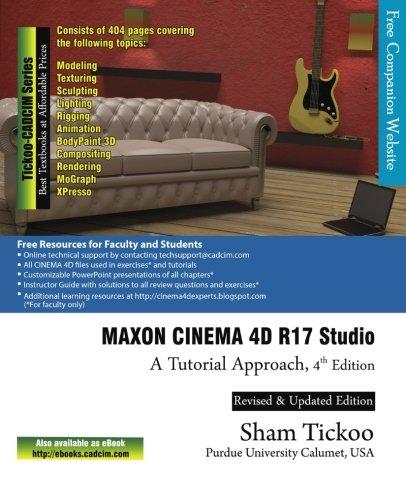 PDF] MAXON CINEMA 4D R17 Studio: A Tutorial Approach | Free
