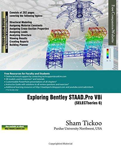 Analysis i modelling i staad. Pro v8i i video training i tutorial i.
