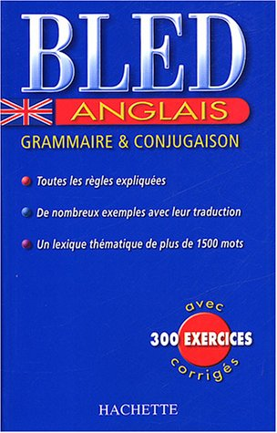 Bled Anglais Grammaire Et Conjugaison Details