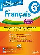 Pour Comprendre Français 6e - Nouveau…