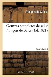 Oeuvres complètes de saint François de…