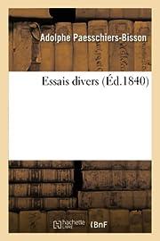 Essais divers (Littérature) (French…