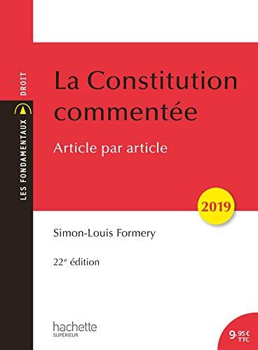La Constitution commentée