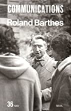 Roland Barthes by Collectif