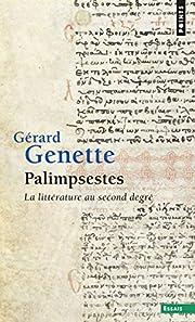 Palimpsestes av Gérard Genette