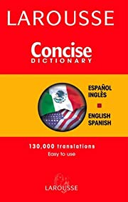 Larousse Concise Spanish-English…