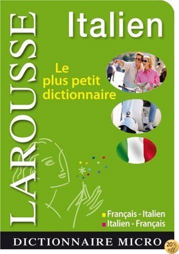 By Larousse Larousse Micro Italien Le Plus Petit Dictionnaire Telecharger Pdf