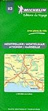 Carte routière : Avignon - Marseille -…