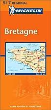Carte routière : Bretagne, N°11517 by…