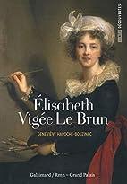 Élisabeth Vigée Le Brun by…