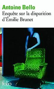 Enquête sur la disparition d'Emilie Brunet…